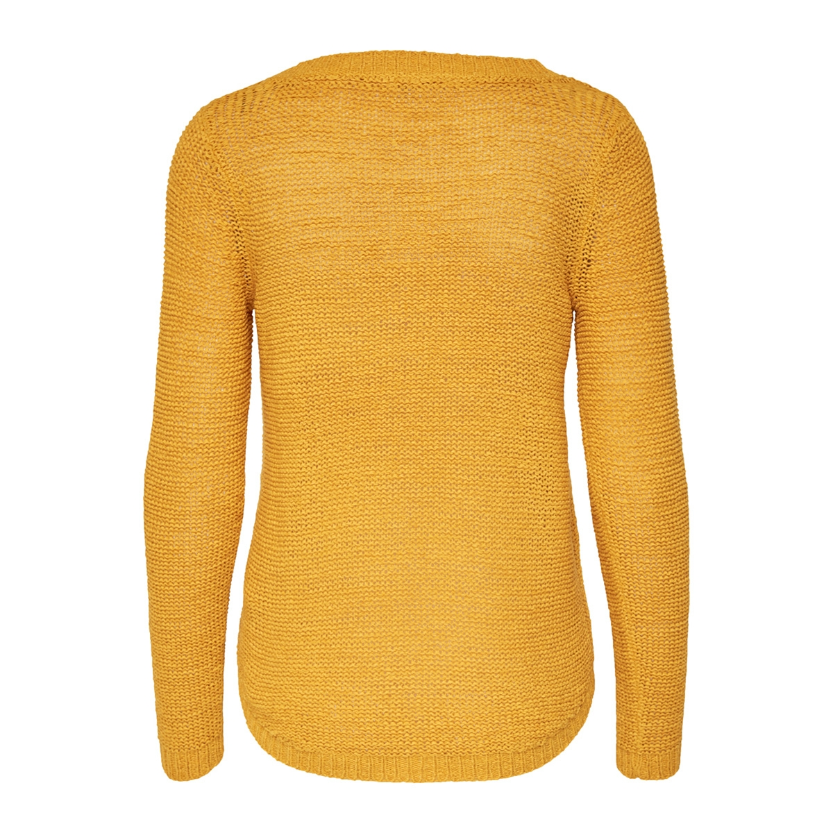 onlgeena xo l/s pullover knt noos 15113356 only trui golden yellow