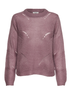 jdydaisy l/s structure pullover knt 15161131 jacqueline de yong trui nostalgia rose