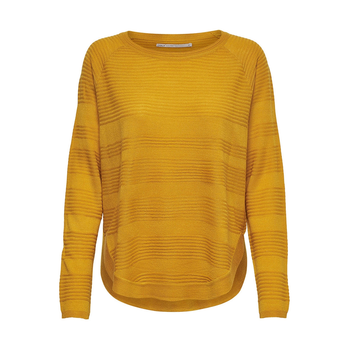 onlcaviar l/s pullover knt noos 15141866 only trui golden yellow