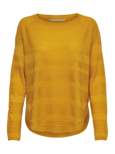 Only Trui onlCAVIAR L/S PULLOVER KNT NOOS 15141866 Golden Yellow