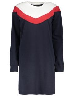 Only Jurk onlGIGI L/S BLOCK DRESS SWT 15161767 Night Sky/STRIPE