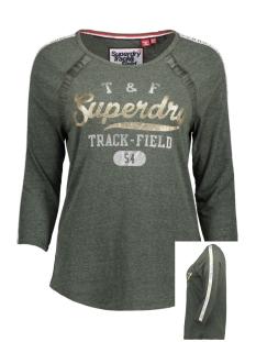 Superdry T-shirt G60001NR Emerald Green Snowy