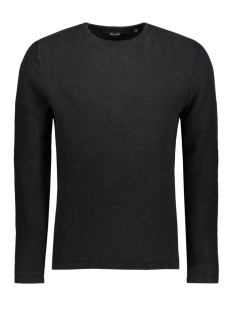 Only & Sons Trui onsHUGH LINE CREW KNIT NOOS 22007422 Black