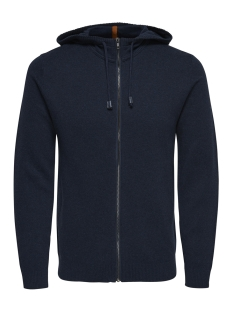 Only & Sons Vest onsODI HOODIE CARDIGAN KNIT 22009489 Blue Nights