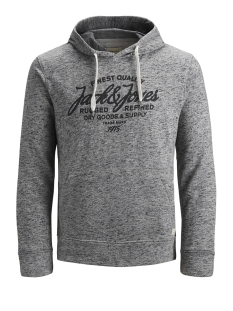 Jack & Jones sweater JJEPANTHER SWEAT HOOD NOOS 12141011 Light Grey/REG FIT