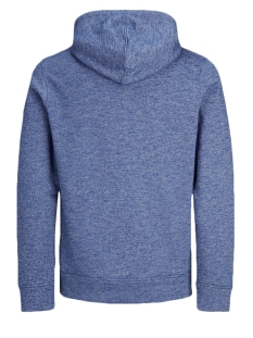 jjepanther sweat hood noos 12141011 jack & jones sweater nautical blue/reg fit