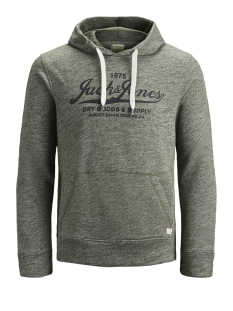 Jack & Jones sweater JJEPANTHER SWEAT HOOD NOOS 12141011 Olive Night/REG FIT