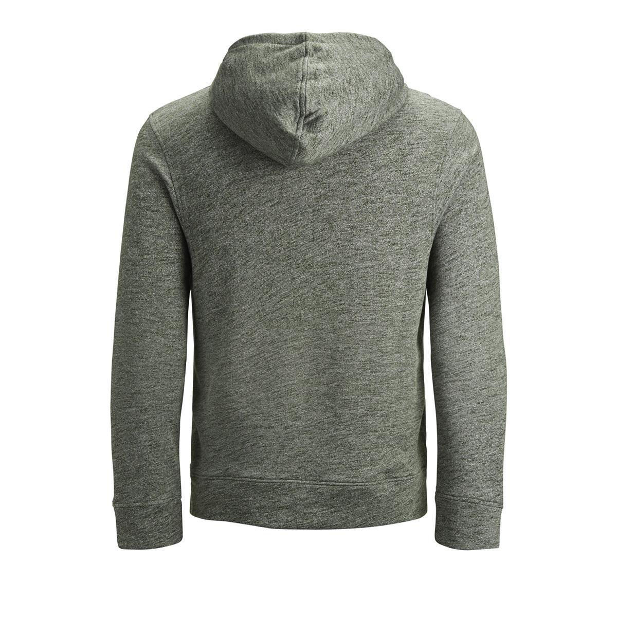 jjepanther sweat hood noos 12141011 jack & jones sweater olive night/reg fit