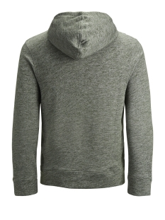 jjepanther sweat hood noos 12141011 jack & jones sweater olive night/reg fit