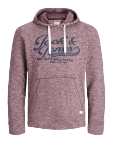 Jack & Jones Sweater JJEPANTHER SWEAT HOOD NOOS 12141011 Port Royale/REG FIT