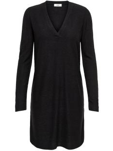 Jacqueline de Yong Jurk JDYMATHISON L/S V-NECK DRESS 15154634 Black