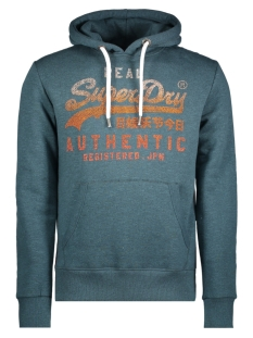 Superdry Sweater M20001NR Relay Teal Marl