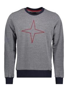 Haze & Finn Sweater MU100407 RED & BLUE