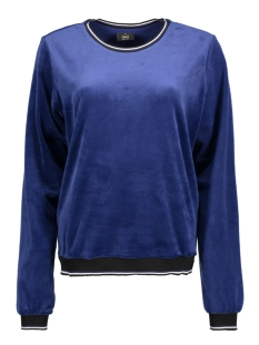 Only Sweater onlCHARLOTTE VELVET L/S O-NECK SWT 15162066 Blueprint