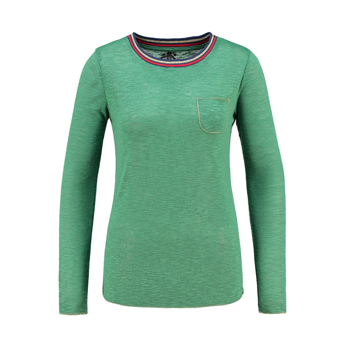 wls00090 key largo t-shirt leaf green