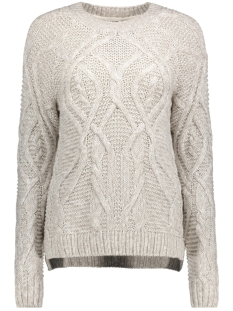 Noisy may Trui NMCARINA L/S O-NECK KNIT 6B 27003872 Sugar Zwizzle
