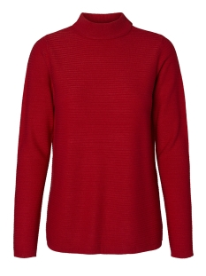 Vero Moda Trui VMBOBBIE LS HIGHNECK BLOUSE COLOR 10208398 Chines Red
