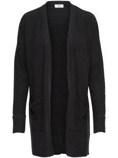 Jacqueline de Yong Vest JDYMATHISON FOLD UP CARDIGAN KNT 15155108 Black