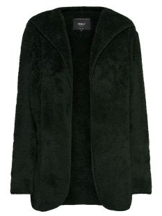 Only Vest onlNEW CONTACT HOODED SHERPA COAT O 15161142 Peat