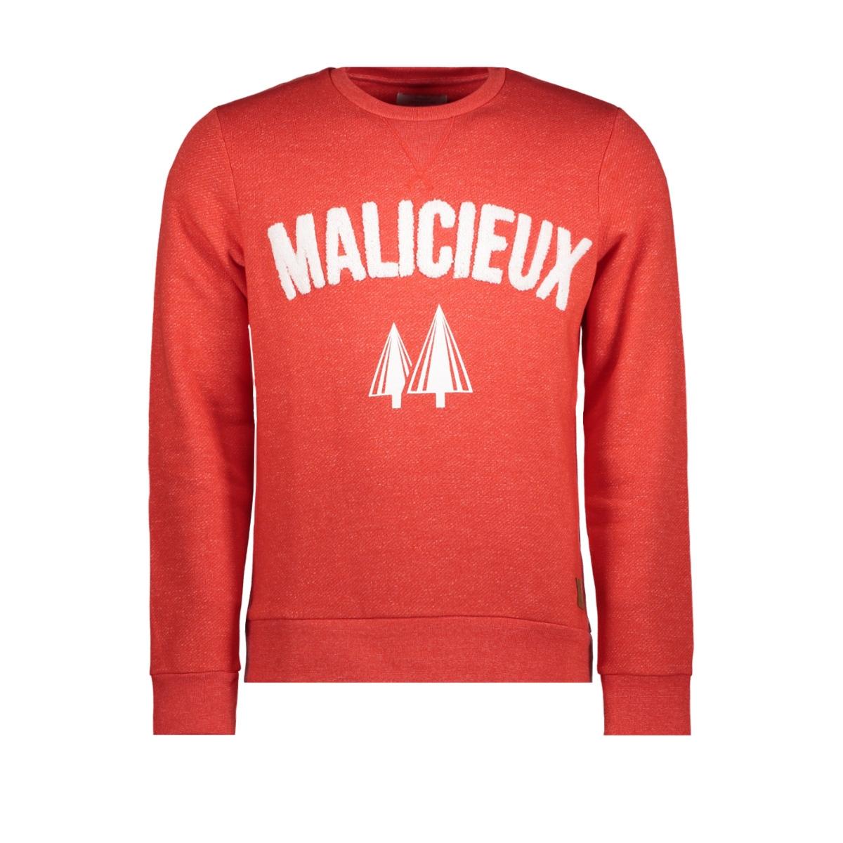 jorelton sweat crew neck 12144353 jack & jones sweater fiery red/slim