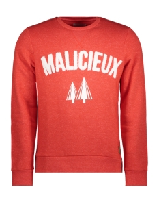 Jack & Jones Sweater JORELTON SWEAT CREW NECK 12144353 Fiery Red/SLIM