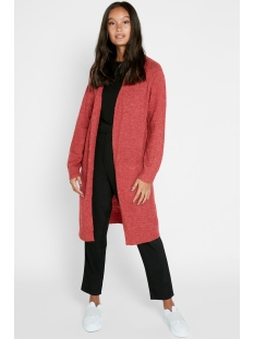 pcjane ls long wool cardigan noos 17082985 pieces vest scooter/melange
