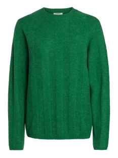 Pieces Trui PCTARA LS KNIT 17091621 Pepper Green/MELANGE