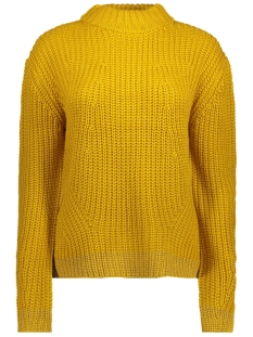 Pieces Trui PCFRY LS KNIT 17091185 Nugget Gold