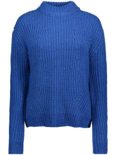 Pieces Trui PCFRY LS KNIT 17091185 Victoria Blue