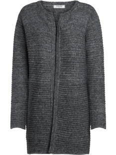 Pieces Vest PCFABLE LS KNIT CARDIGAN 17091497 Dark Grey Melange