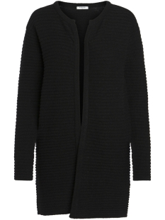 Pieces Vest PCFABLE LS KNIT CARDIGAN 17091497 Black