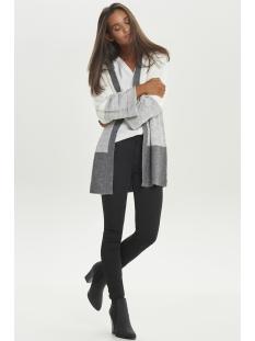jdyelanor fold up cardigan knt 15155110 jacqueline de yong vest cloud dancer