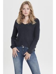 jdymegan l/s pullover knt noos 15161280 jacqueline de yong trui night sky/w. black p