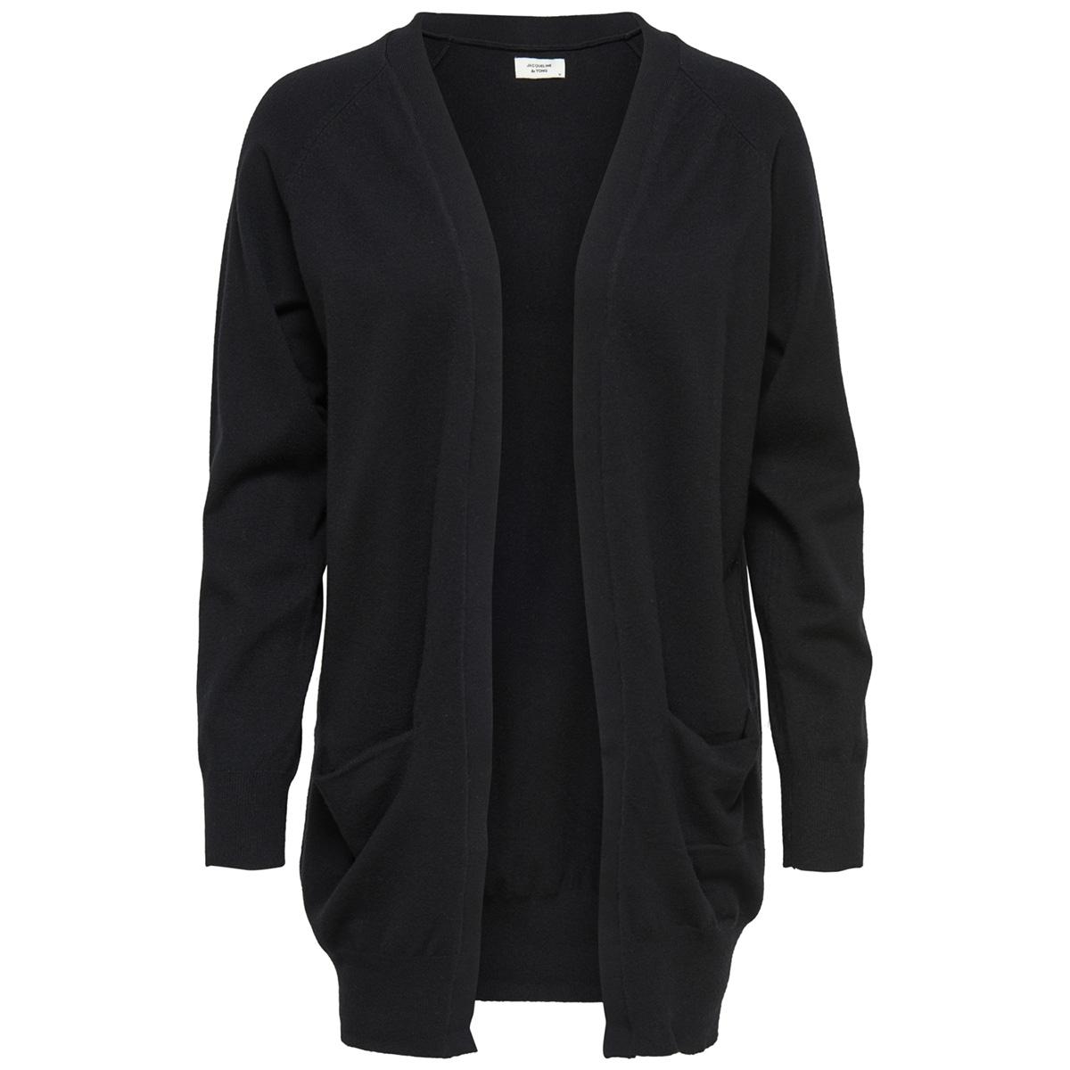 jdyday l/s noos cardigan knt 15154643 jacqueline de yong vest black