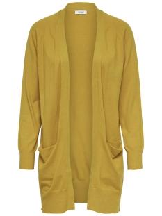 Jacqueline de Yong Vest JDYDAY L/S NOOS CARDIGAN KNT 15154643 Golden Spice