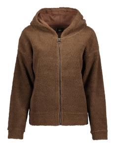 Only Vest onlKAREN L/S ZIP HOOD SWT 15163722 Partridge