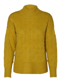 Pieces Trui PCFAY LS WOOL KNIT BF 17090323 Nugget Gold