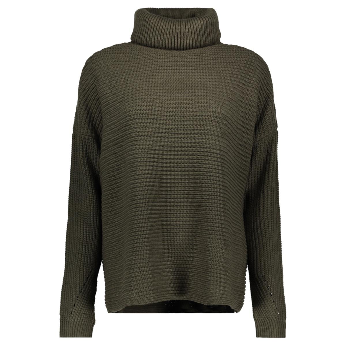 vmsayla ls cowl neck blouse boo 10200258 vero moda trui peat