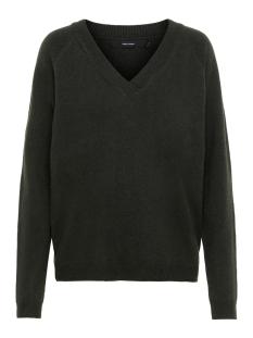 vmbrilliant ls v-neck blouse color 10203222 vero moda trui peat