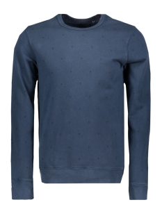 Jack & Jones Sweater JPRDAVID AOP SWEAT CREW NECK 12139377 Navy Blazer/SLIM FIT