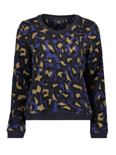 Only Sweater onlANNALISE AOP L/S O-NECK SWT 15165026 Night Sky COMB 2