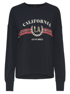 Only sweater onlCALIFORNIA PRINT L/S  SWT 15177506 Night Sky/CALIFORNIA