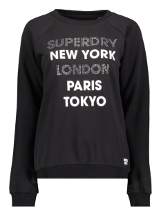 Superdry sweater G20002MR BLACK