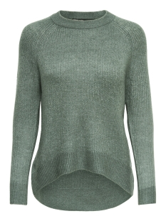 Only Trui onlORLEANS L/S O-NECK PULLOVER KNT NOOS 15166164 Balsam Green/W. MELANGE