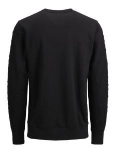 jcocole sweat crew neck 12147064 jack & jones sweater black/jack&jones