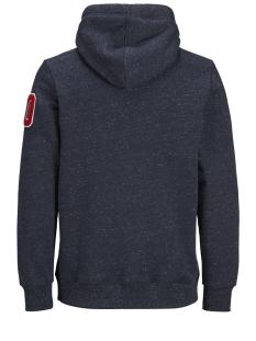 jorchamps sweat hood 12143350 jack & jones sweater total eclipse/slim