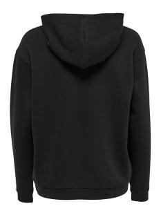 jdylover l/s hood emb swt 15163166 jacqueline de yong sweater black/ladybird