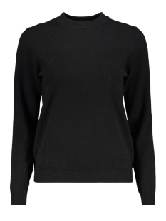 Only Trui onlELINA L/S O-NECK PULLOVER KNT  15166651 Black