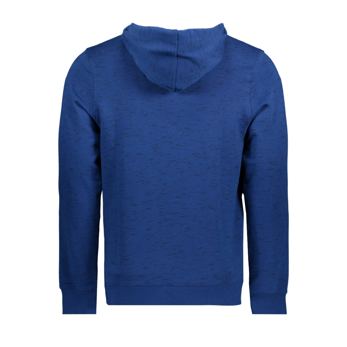 jorjop sweat hood 12144357 jack & jones sweater estate blue/slim