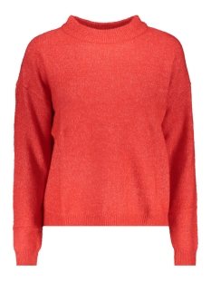 Vero Moda Trui VMRANA LS O NECK BLOUSE BF REP 10202755 Chinese Red